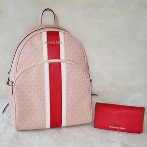 Michael Kors Abbey Backpack With Wallet